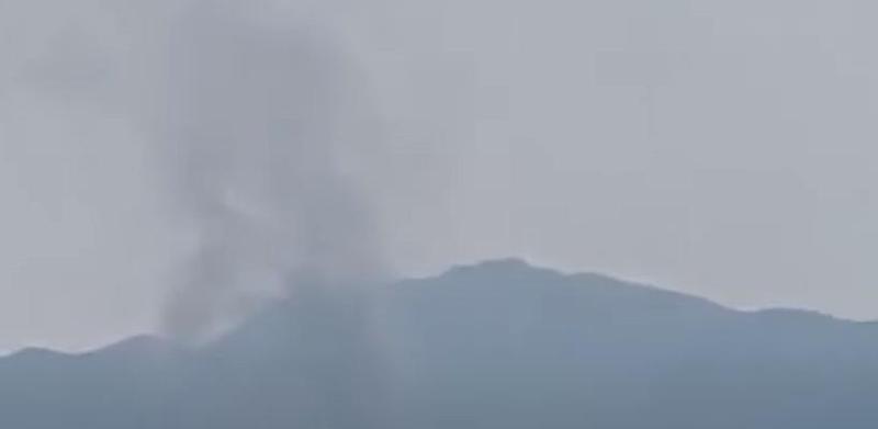 南韓統一部證實,下午2點49分,兩韓聯合辦公室遭北韓炸毀。(翻攝연합뉴스TV Youtube)