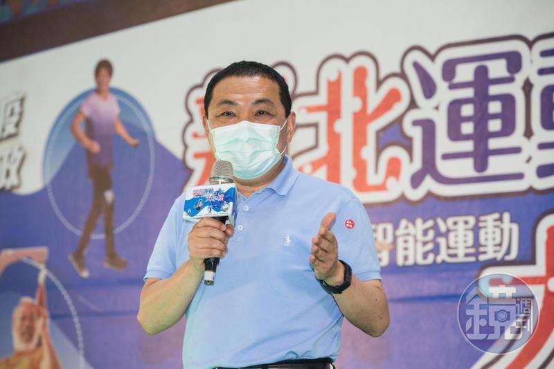 面對北京疫情再度升溫,新北市長侯友宜提醒大家須嚴正以待,在後疫情時代,仍要保持社交距離、戴口罩及勤洗手等習慣。(本刊資料照)
