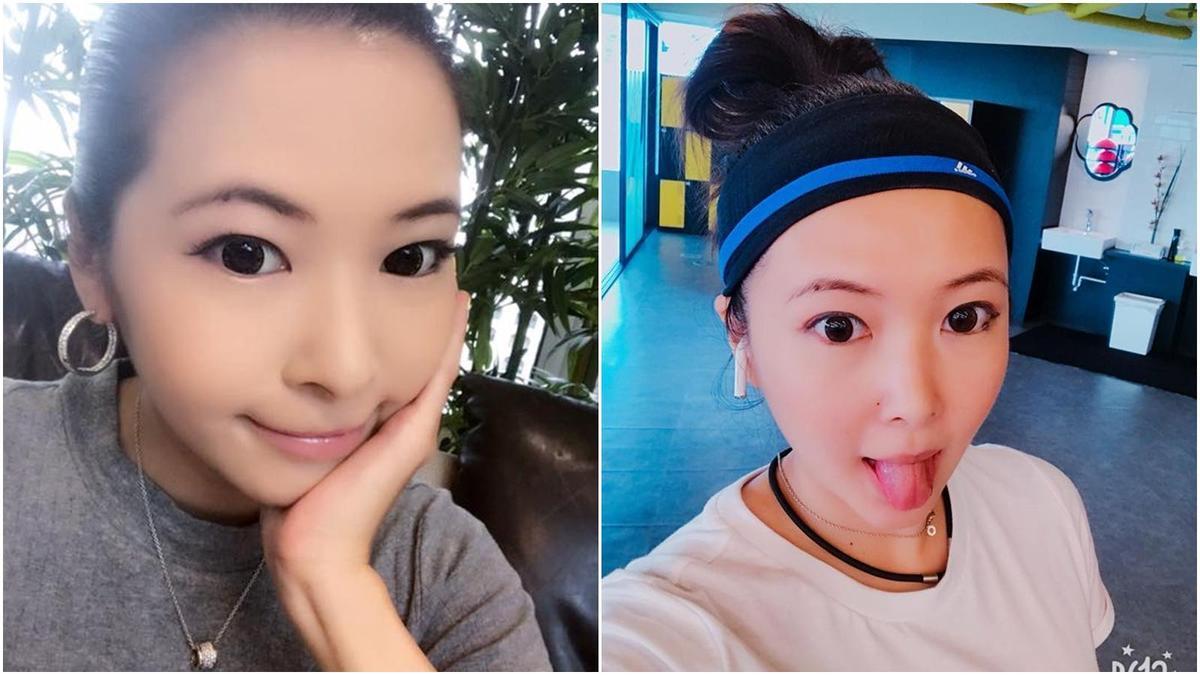 蕭亞軒淡妝自拍照,被網友說撞臉Makiyo。(翻攝自Makiyo臉書)