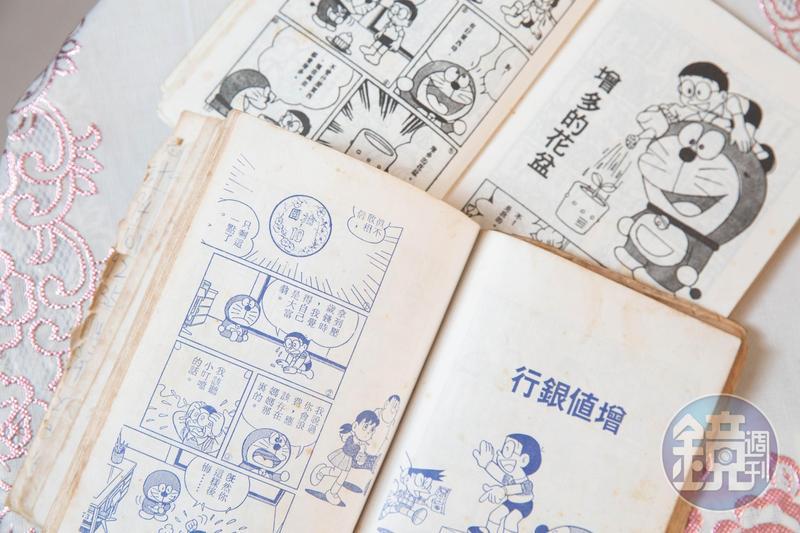 《哆啦A夢》漫畫裡出現的「增值銀行」、「增多的花盆」,都讓達人張遠體悟投資要善用工具。