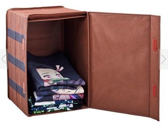 禰豆子收納箱尺寸為 45 × 30 × 30 公分。(翻攝BANDAI FASHION COLLECTION官網)
