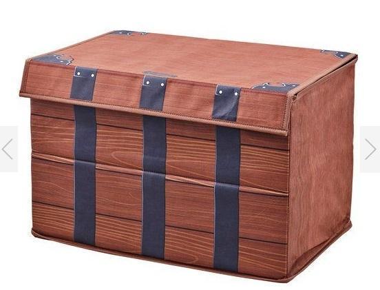 禰豆子收納箱以不織布、厚紙板及魔鬼氈為主要質料。(翻攝BANDAI FASHION COLLECTION官網)