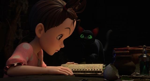 在暗中幫助阿雅的黑貓湯瑪士。