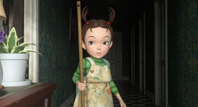 阿雅被壞魔女收養後,從早到晚都要做家事。