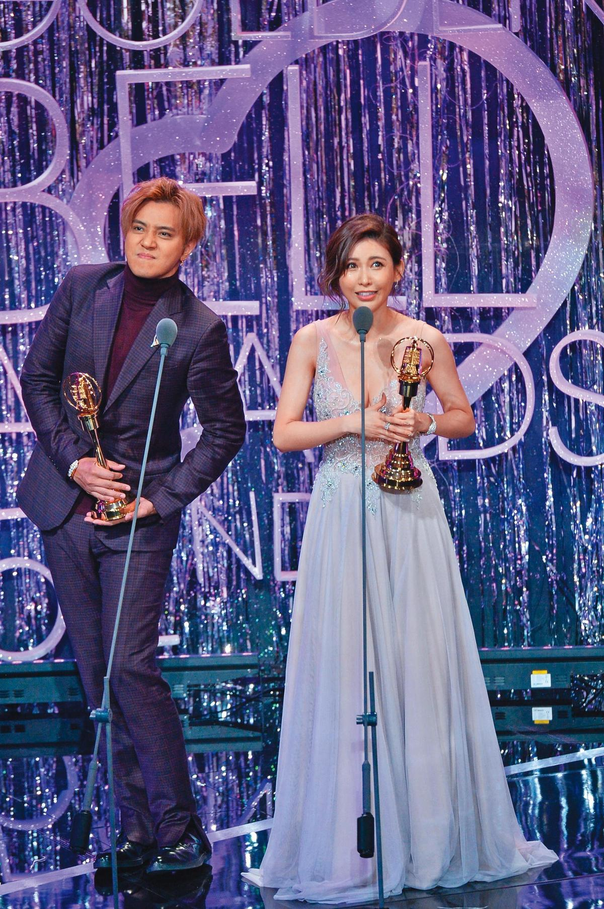 受到負面新聞影響,羅志祥(左)和愷樂(右)至今未回歸《娛樂百分百》。(八大提供)