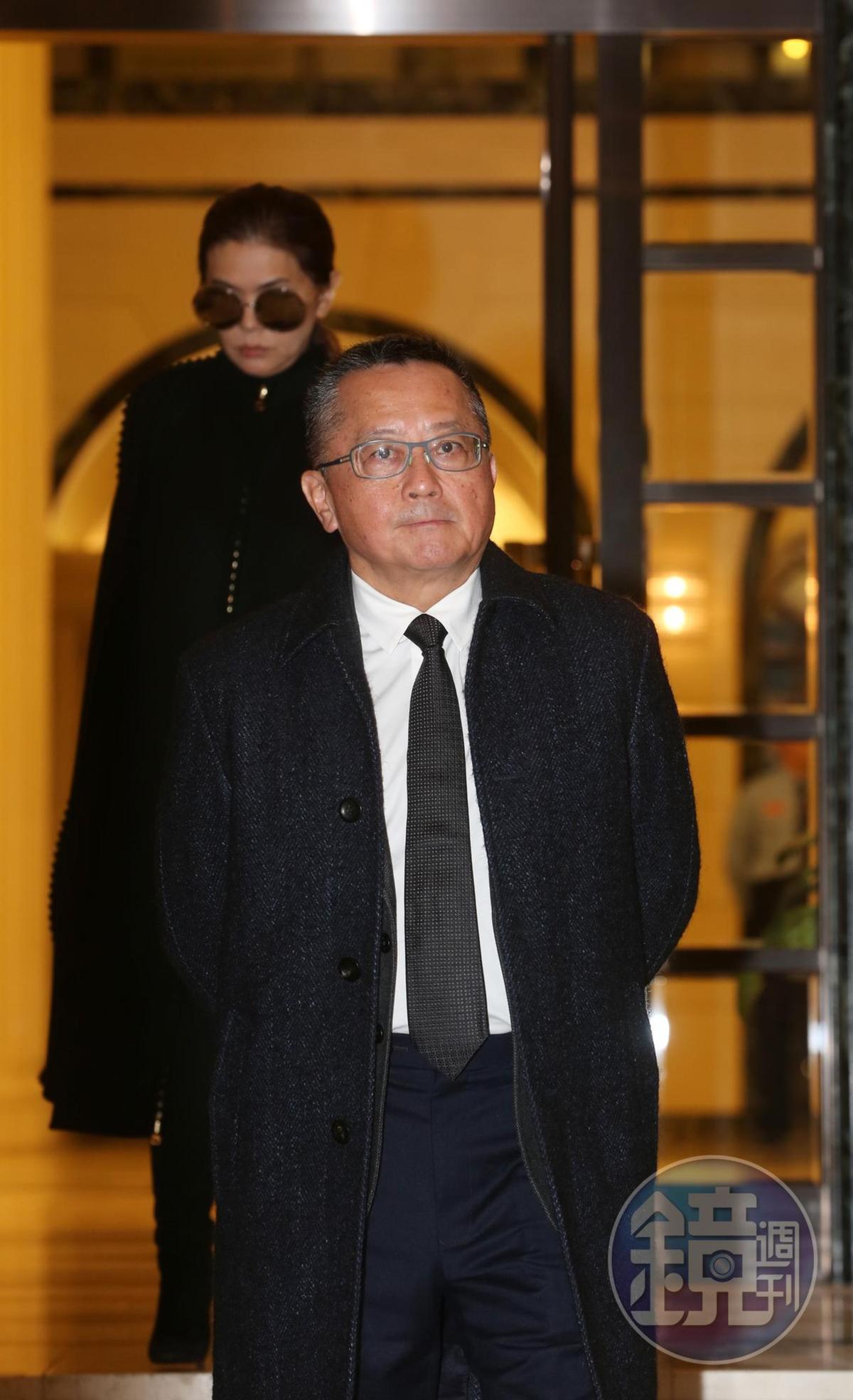 宋學仁傳出身家達15億台幣。