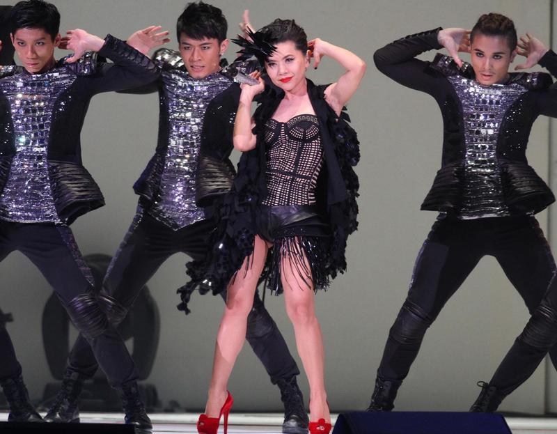 張清芳當年叱吒歌壇,堪稱1990年代的天后之一。(東方IC)