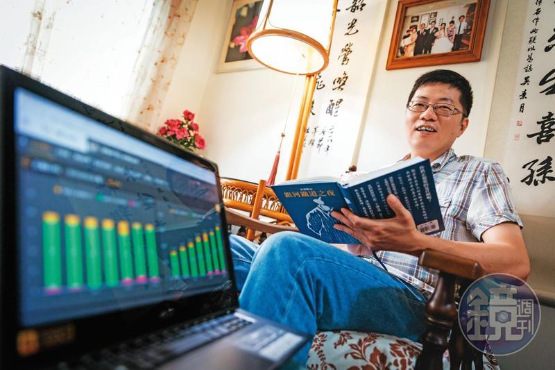 閱讀開啟陳啟祥價值選股大門,讓他在投資路上少走許多冤枉路。
