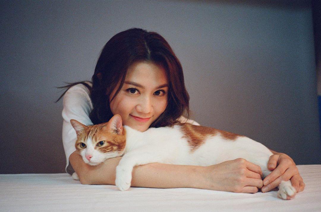 周秀娜模特兒出身,後來拍了周星馳的《西遊.降魔篇》走紅。(翻攝周秀娜IG)