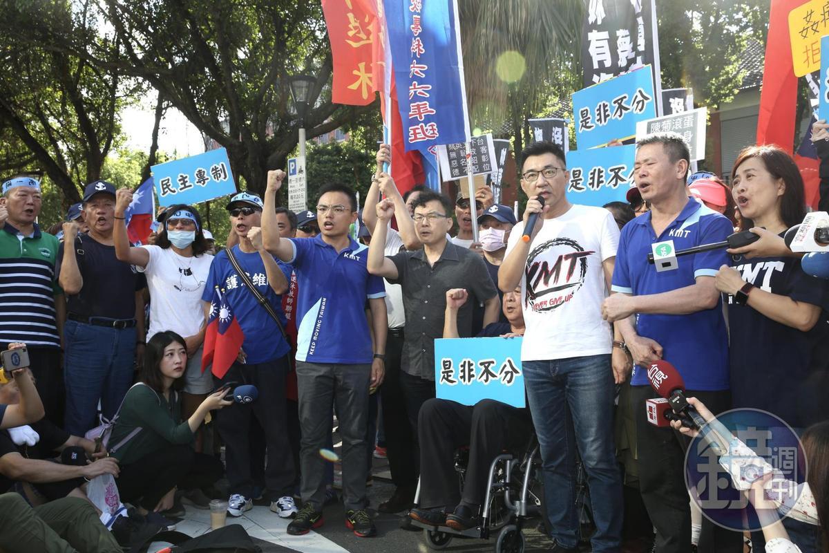 陳菊被提名監察院長,江啟臣強調,國民黨將會反對到底。