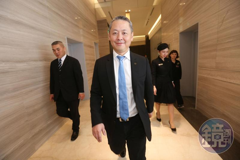 廖鎮漢要整合線上線下,打造「微風超零售生態圈」。