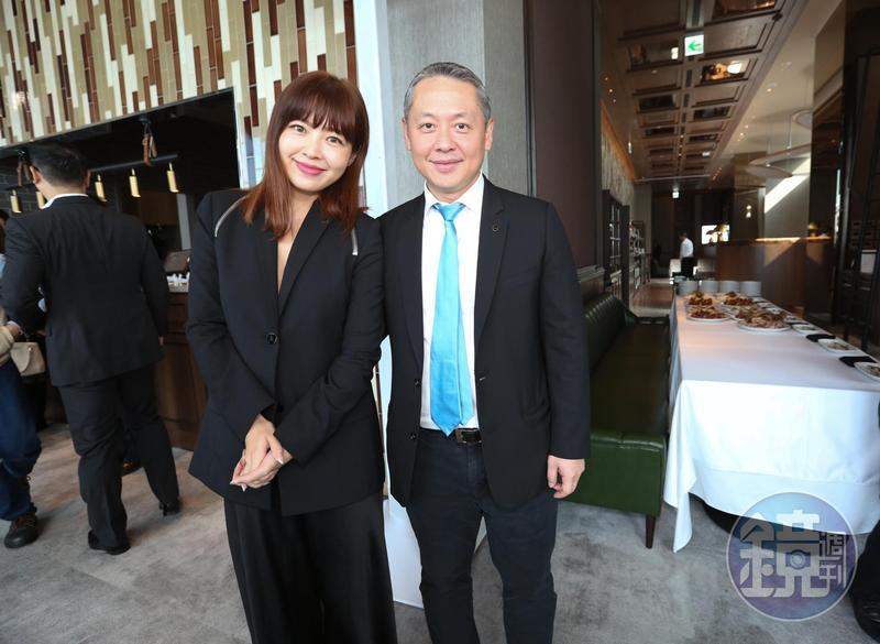 廖鎮漢與廖曉喬彼此分工,去年帶領微風創下超過300億的業績。