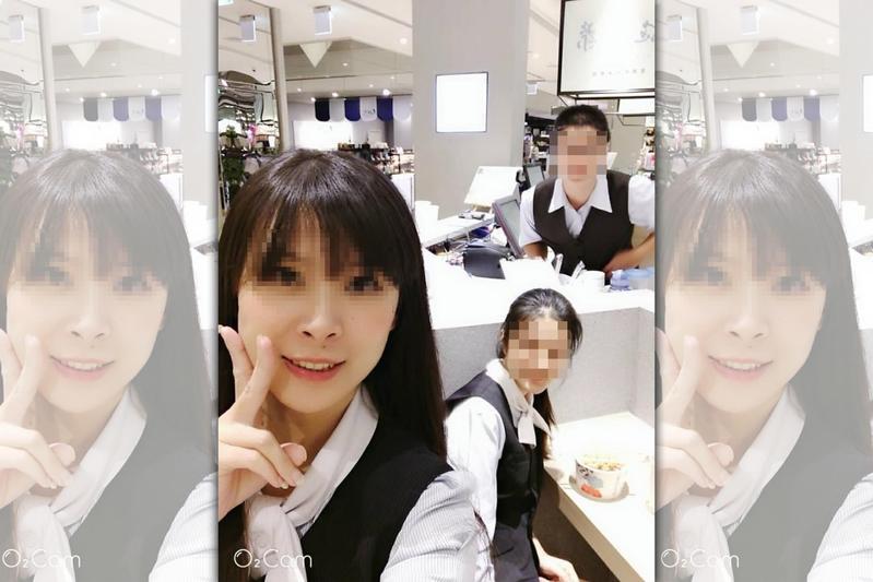 施房茶美女店員帶著配方機密一起逃到馬來西亞開業。(翻攝臉書)