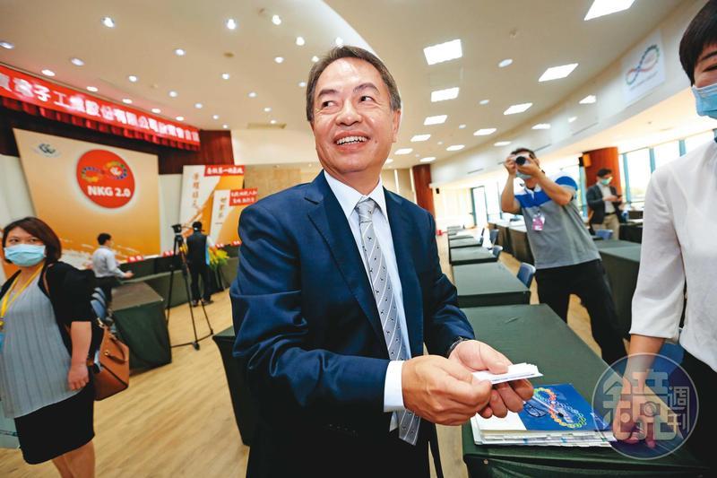 陳威昌是業務出身,在仁寶待了20幾年,曾經負責戴爾的筆電業務,幾乎占了仁寶一半的營收。