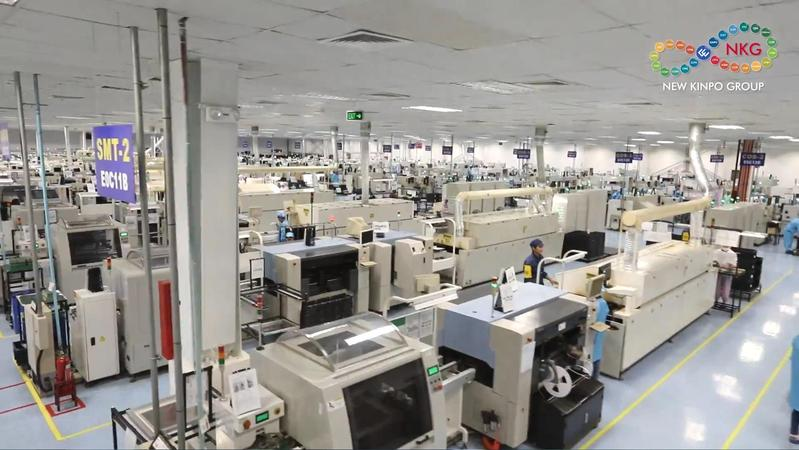 金寶菲律賓廠2016年拉到Dyson以後,又多了吸塵器和吹風機2個新產品。(翻攝自新金寶官網)