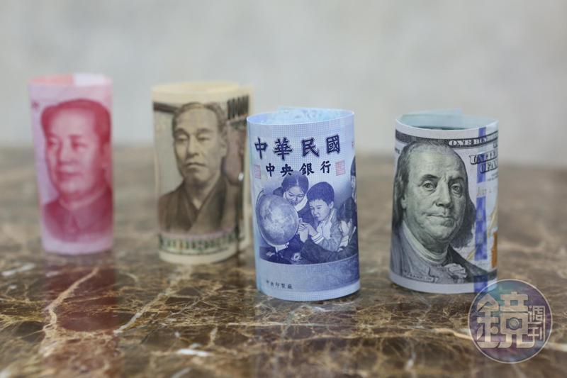 謝金河認為美元走向弱勢,新台幣未來5年、10年可能會進到20至30的大區間。