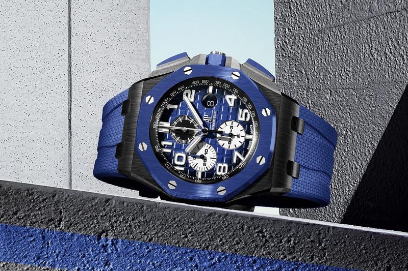 愛彼推出三款全新ROO皇家橡樹離岸型計時碼錶,共通點是皆採用黑色陶瓷錶殼加上煙燻面的組合。