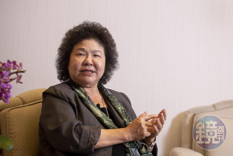 「港版國安法」通過,前總統府秘書長陳菊在臉書為香港人打氣。