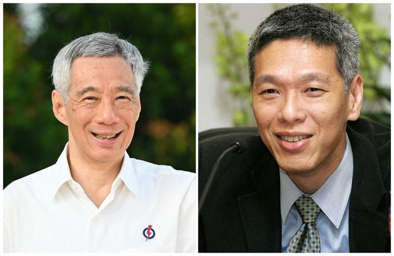 新加坡國會大選前,李顯揚(右)宣布加入反對黨「新加坡前進黨」,並批評哥哥李顯龍的執政黨已迷失方向。(翻攝自李顯龍粉絲專頁、李顯揚臉書)