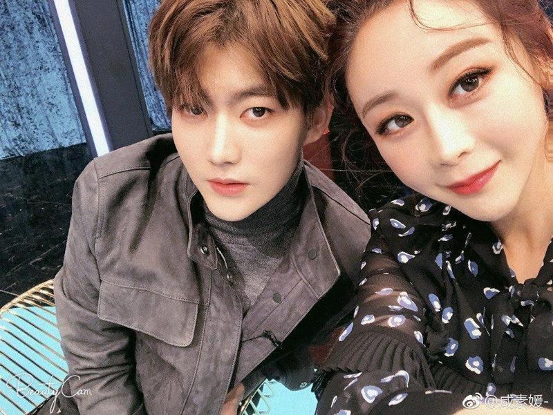 咸素媛嫁給小18歲的中國網紅陳華育有1女,如今想著快點生出第二胎。(翻攝自微博)