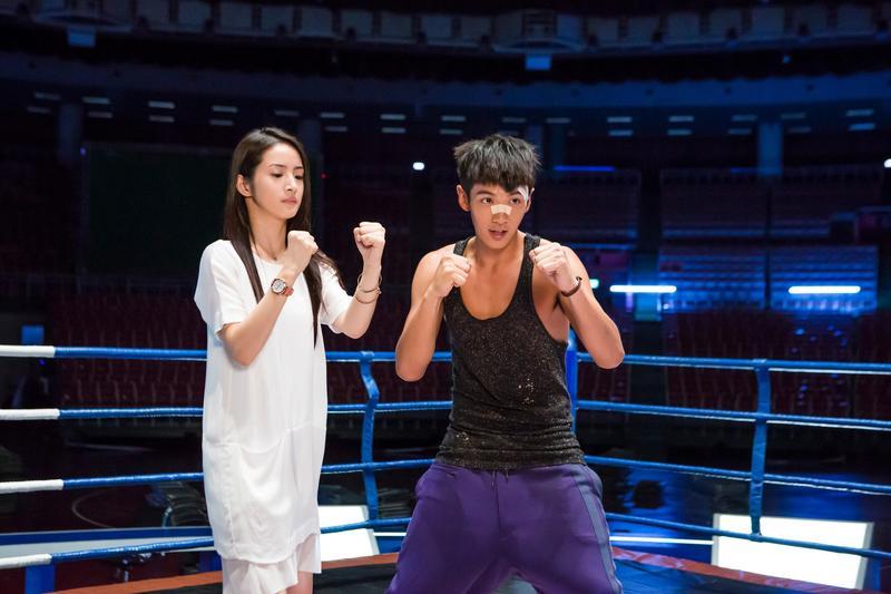 與林依晨拍攝《打噴嚏》時,柯震東被驚到「女神真的零負評!」(傳影互動提供)