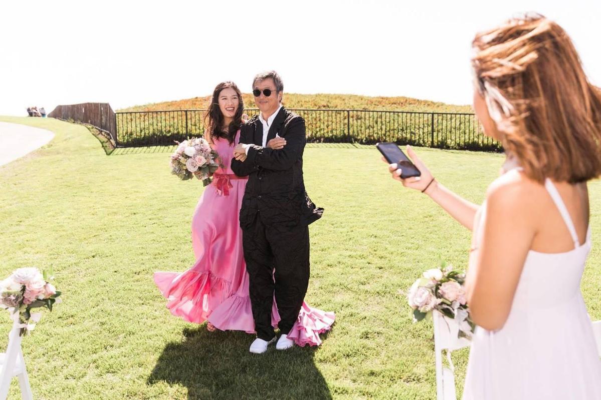 王偉忠大女兒王羚去年9月嫁給美國排名第四富豪家族Cargill-MacMilan(嘉吉麥米倫)。(圖/王偉忠提供)