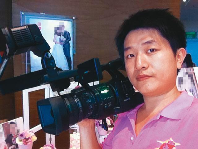 謝妻控訴丈夫(圖)侵占診所,自己才是診所實際經營者,謝只是一個婚禮攝影師,根本不懂醫美。(翻攝臉書)