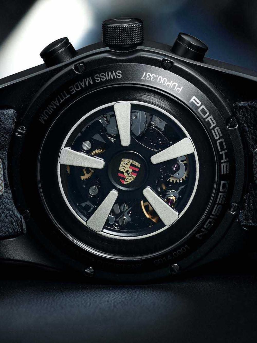 由Porsche Design打造的保時捷客製腕錶皆在瑞士製造,搭載瑞士機械機芯,並且連機芯裝飾與設計也可以客製。