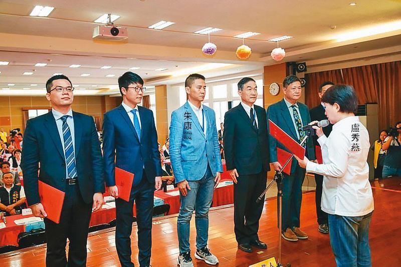 朱康震去年9月獲台中市長盧秀燕之邀,出任市府副祕書長。(台中市政府提供)