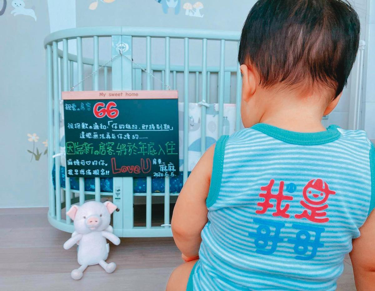 安以軒2019年7月才產下第一胎,相隔不到1年,上月又宣布自己懷第二胎,預產期在年底。(翻攝自安以軒臉書)