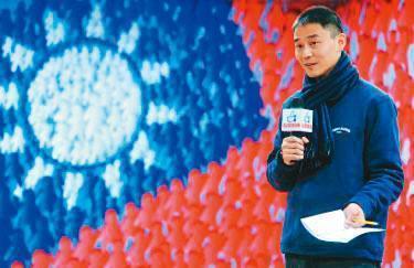 朱康震(圖)曾在前總統馬英九競選總部擔任發言人。(翻攝臉書)
