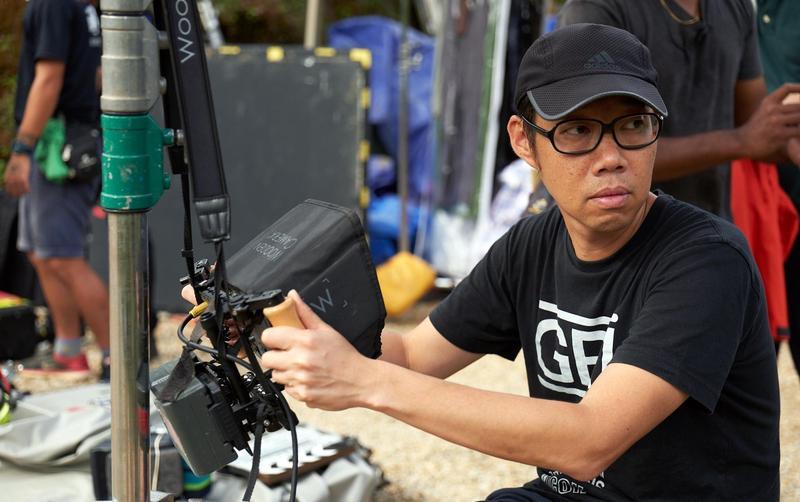 《夕霧花園》導演林書宇以往每次拍完片痛風的毛病就發作。(甲上提供)