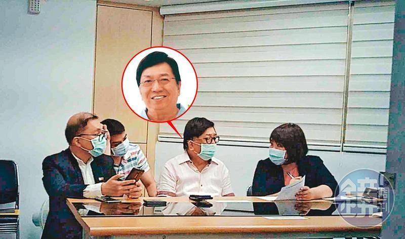 菲國駐台代表班納友(中)在勞資調解會霸氣宣稱:「不必遵守台灣的法律!」(翻攝班納友臉書)