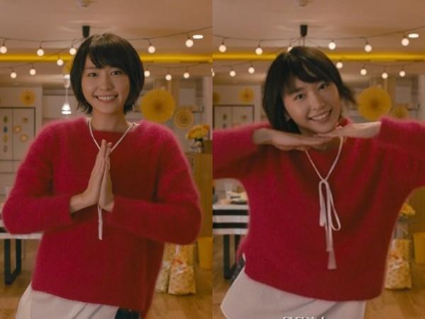 新垣結衣因《月薪嬌妻》而再度受到關注,在劇中的萌樣擄獲許多觀眾的心。(翻攝KINI速報)