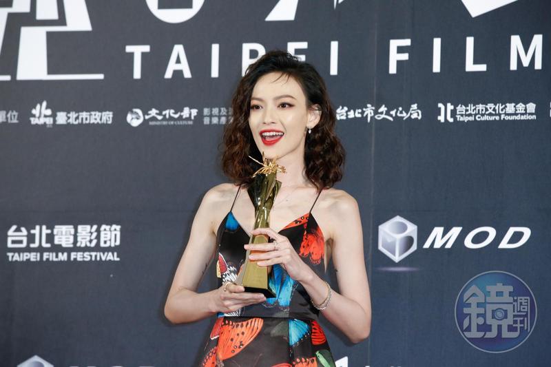姚以緹憑《江湖無難事》拿下台北電影獎最佳女配角。