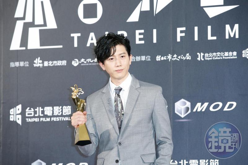 18歲就入圍金鐘獎,但等了21年才拿到演技獎項,莫子儀成為台北電影節最佳男主角。