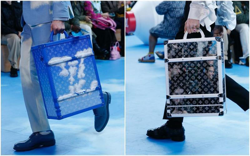 路易威登推出全新Monogram Cloud(左)與Monogram Mirror後背包硬箱。(LV提供)
