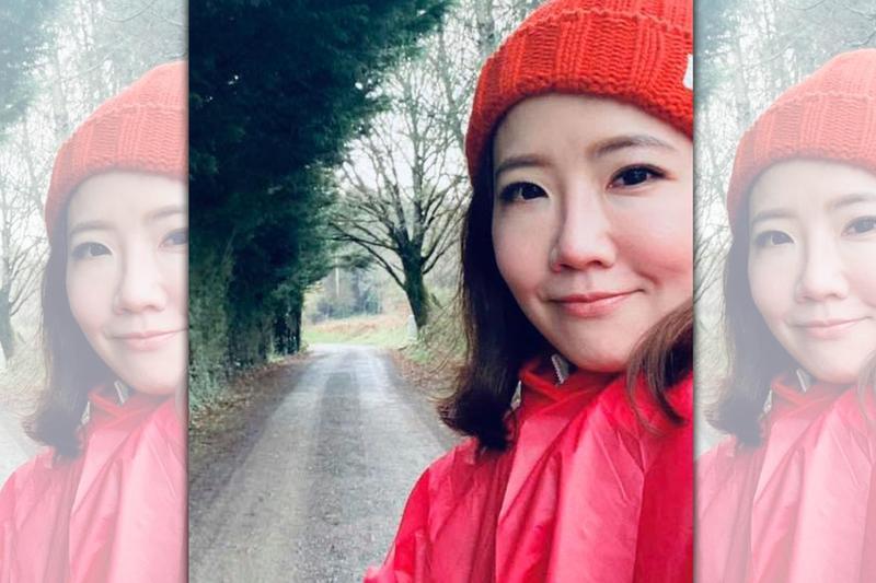 今年初,謝忻在淡季走上西班牙朝聖之路,體驗極孤獨與自己對話的旅程。(翻攝自謝忻臉書)