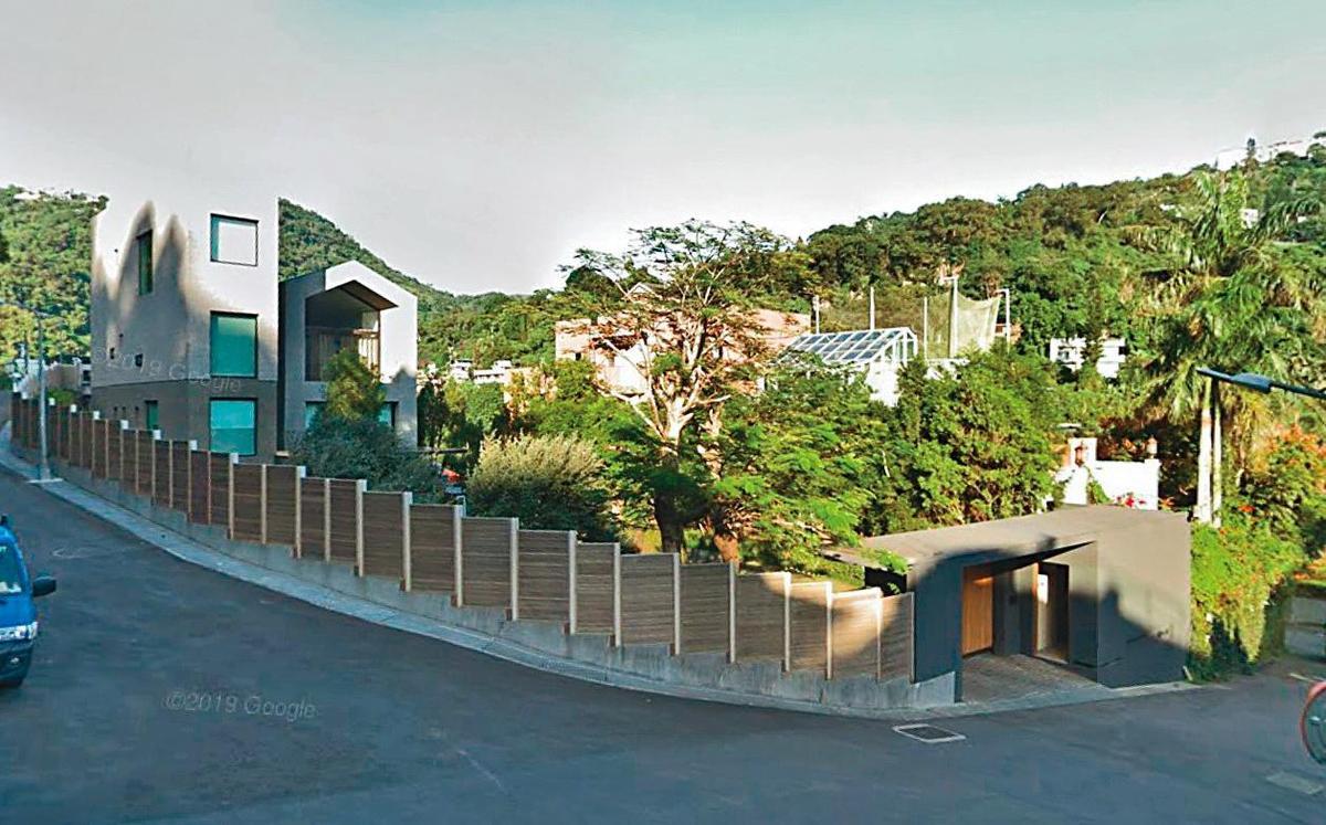 宋學仁同意將台北市外雙溪別墅(圖)及股票、現金過戶給張清芳,總值約新台幣16億元。(翻攝自Google Map)