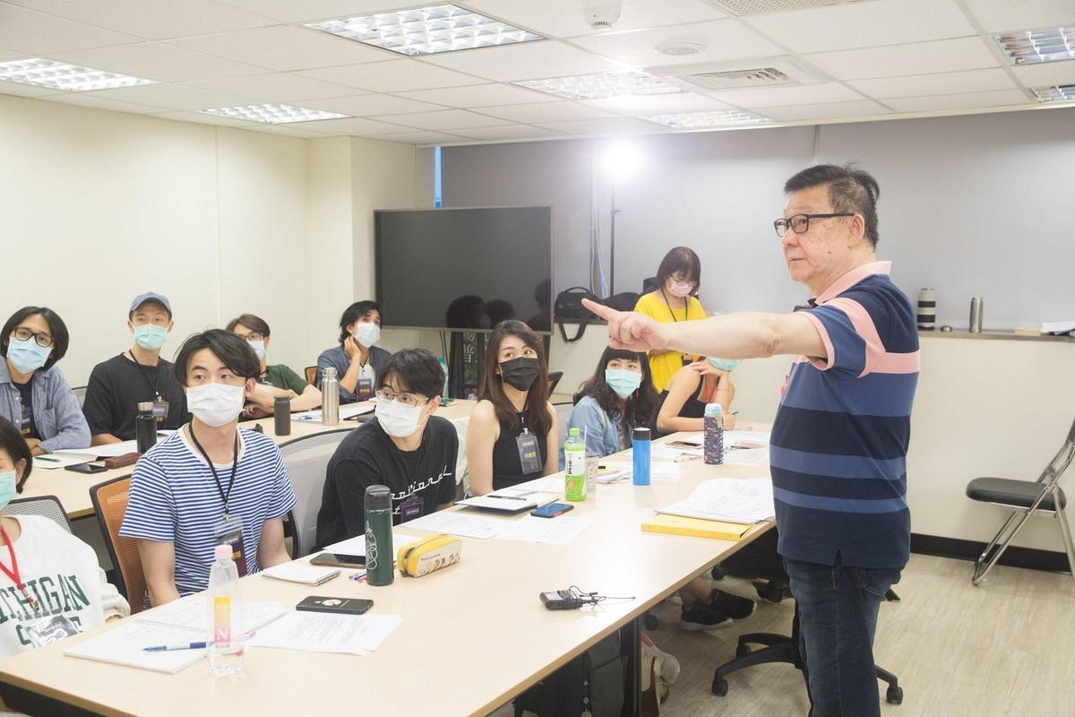 金鐘獎常客袁光麟老師傳授聲音技巧。(圖/鏡好聽提供)