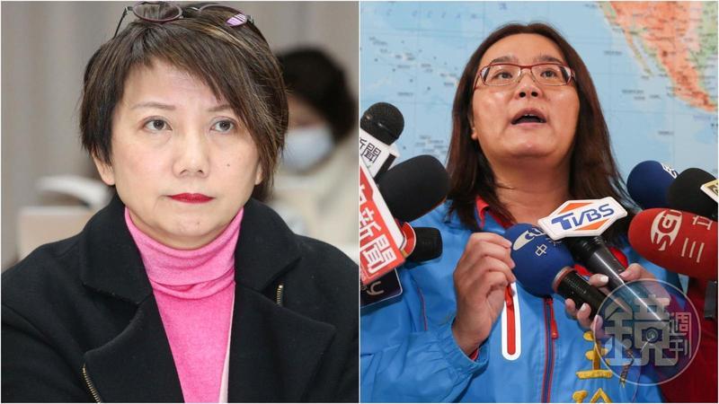 范雲(左)不滿遭性騷,陳玉珍(右)反批她怕熱就別進廚房。(本刊資料照)