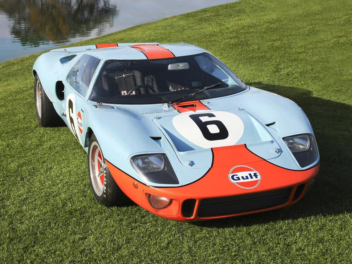 FORD GT40由傳奇車輛工程師Carroll Shelby 主導設計。