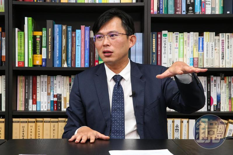前立委黃國昌直言大同公司派最大的問題就是一直說,但又始終拿不出任何證據。