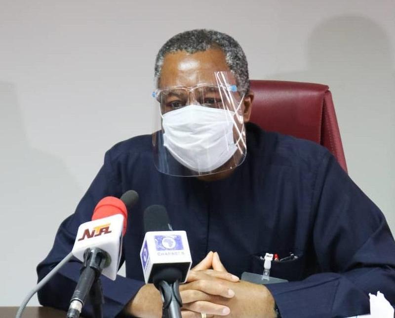 奈及利亞外長奧尼亞馬確診武漢肺炎,目前在醫療機構隔離。(翻攝自Geoffrey Onyeama推特)