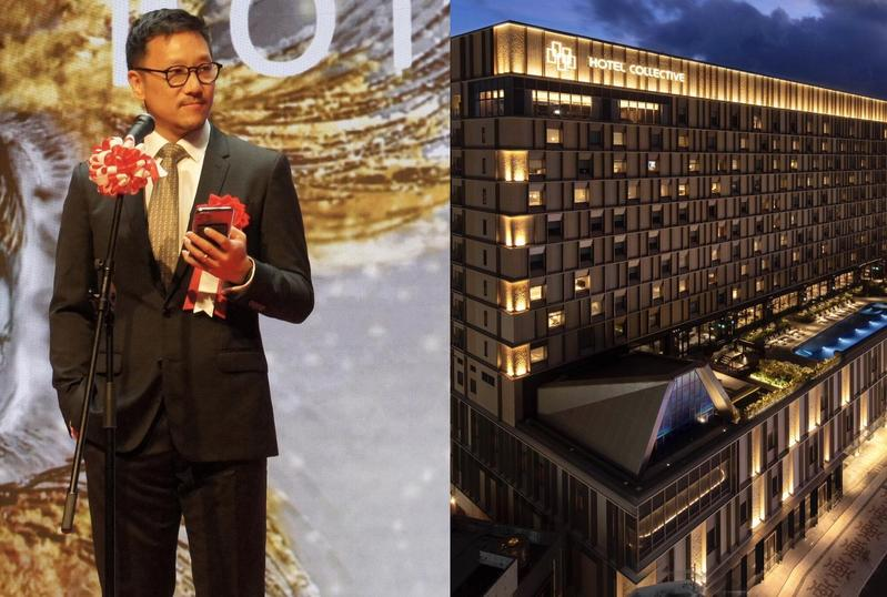 台灣老字號嘉新企業在董事長張剛綸帶領下,走出海外開設國際型飯店「Hotel Collective」,雖然開幕期間受到新冠肺炎衝擊,但張剛綸認為該把這段期間當成營運培訓期,靜待旅宿重新開放。