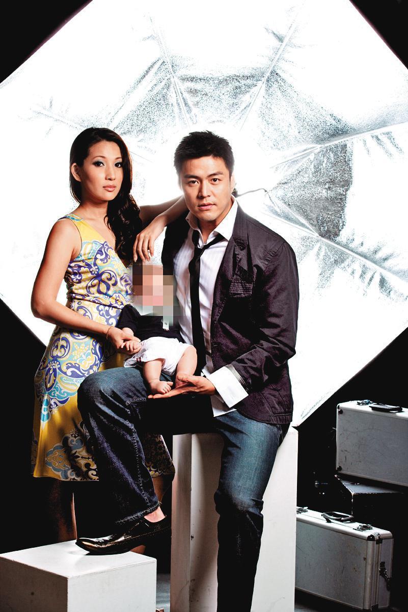 林子瑄和劉至翰(右)2008年結婚,婚姻僅維持3年就破局。(翻攝自林子瑄臉書)