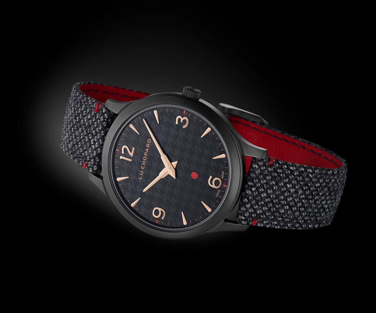 蕭邦L.U.C XP Il Sarto Kiton腕錶,全球限量100只,建議售價NT$382,000。