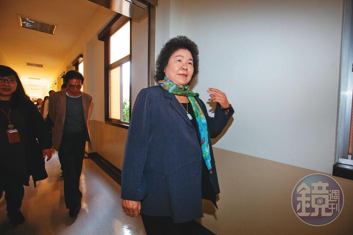 準監察院長陳菊上週經立法院投票同意,將於8月1日上任。