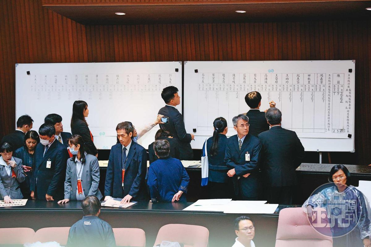 立法院臨時會通過下屆考試院及監察院人事案,若修憲成功,下屆考、監委將是最後一屆。