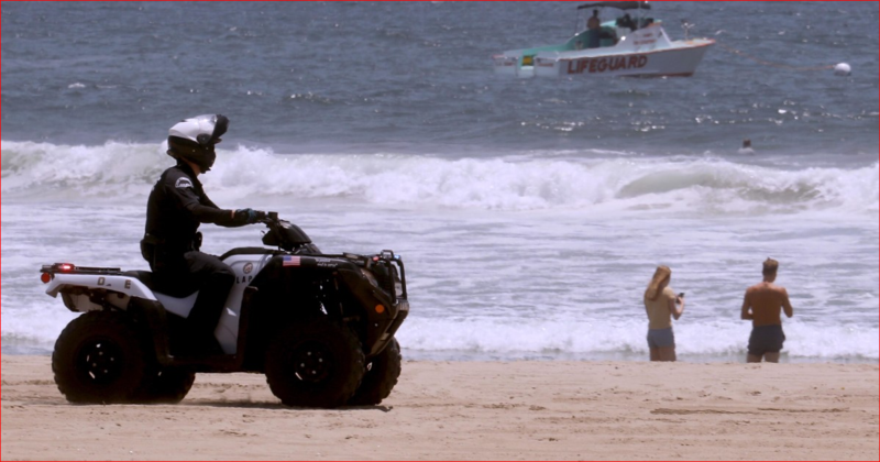 洛杉磯Ventura郡海灘在6月重新開放。(翻攝推特)